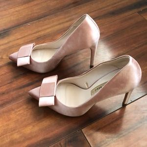 Zara Shoes - Zara Bow Satin heels size 37